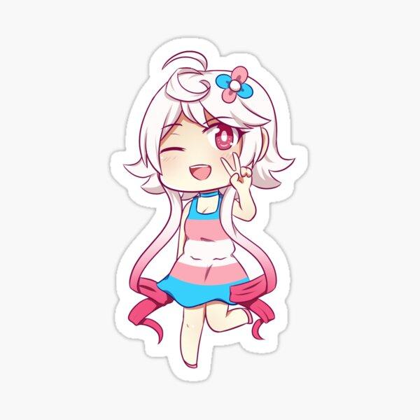 Vocaloid Trans Pride Maika Sticker