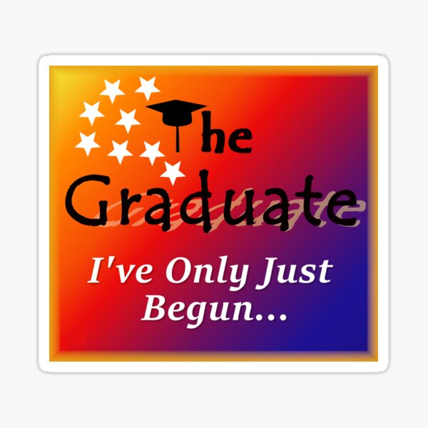 The Graduate Series 3 Sticker