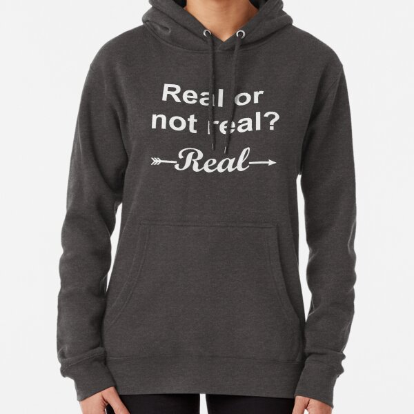 Hunger Games Real or Not Real 2 Pullover Hoodie