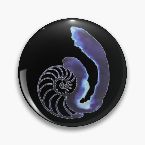 Orphan Black Cosima's Nautilus Shell Tattoo Pin