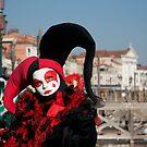 Carnavale di Venezia Masks I by Louise Fahy