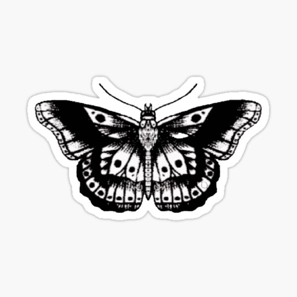 Papillon HarryStyles Sticker