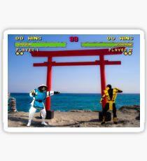 HD Kombat Sticker