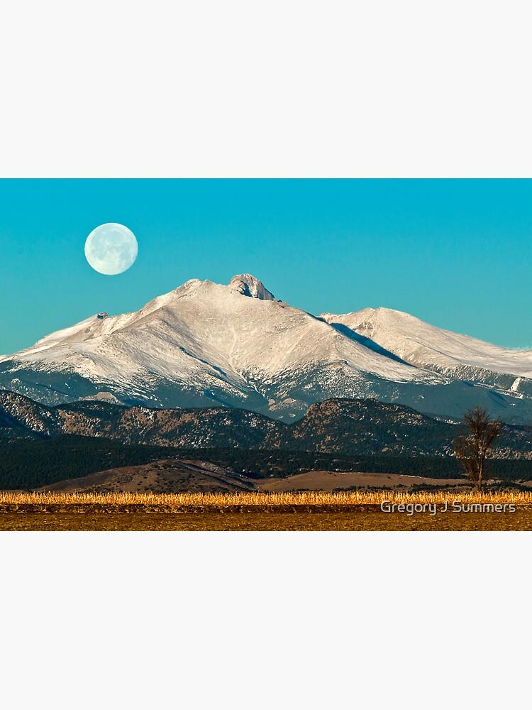 Longs Peak Moonset by nikongreg