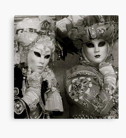 Carnavale di Venezia Masks IV.I Canvas Print