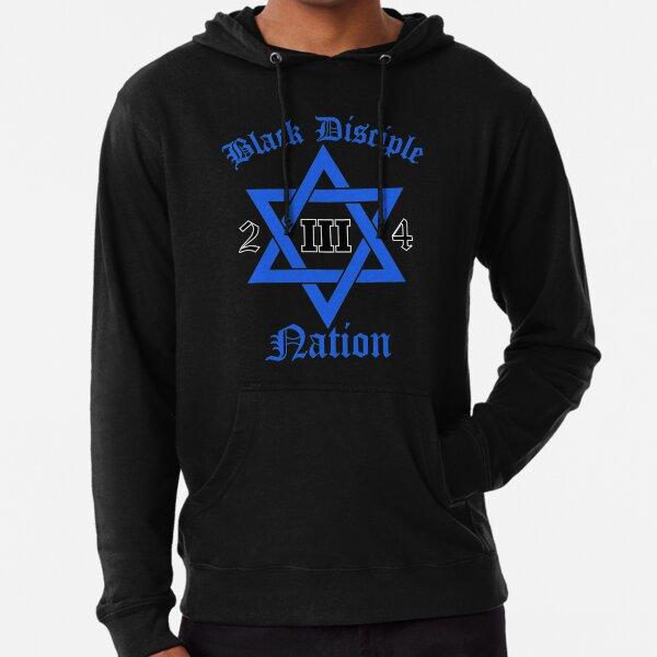 Black Disciple Nation Lightweight Hoodie