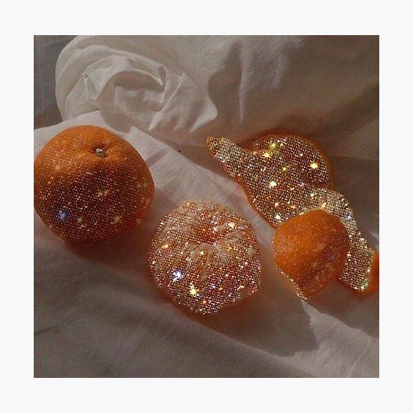 l'orange Photographic Print