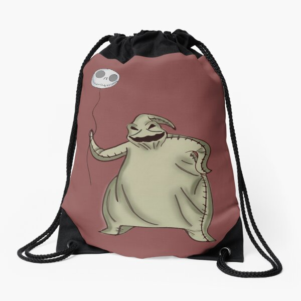Balloon Jack and Oogie Boogie Drawstring Bag