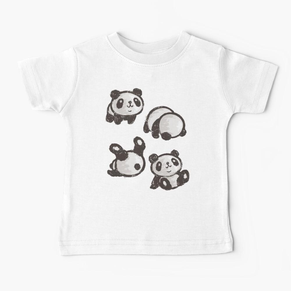 Rolling panda Baby T-Shirt