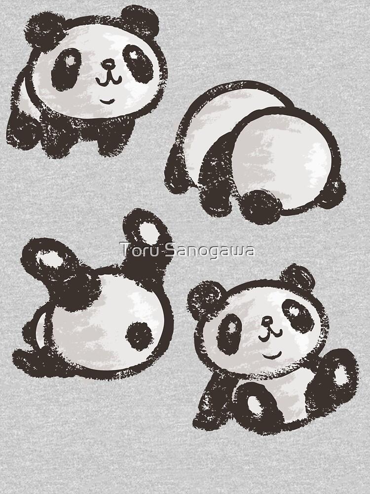 Rolling panda by sanogawa