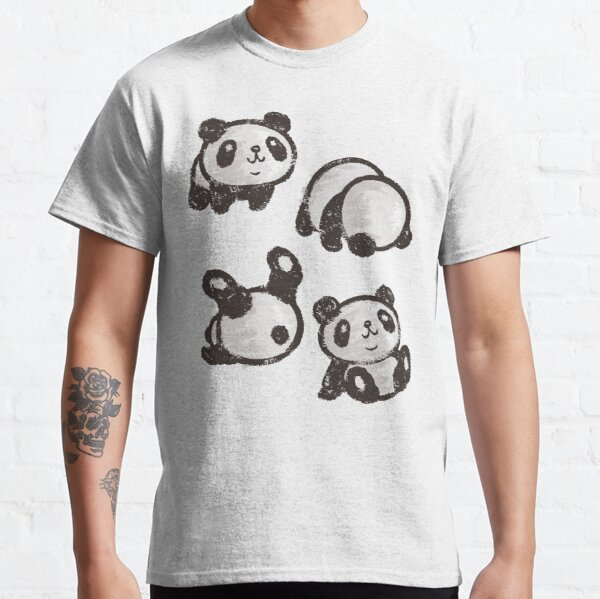 Rolling panda Classic T-Shirt