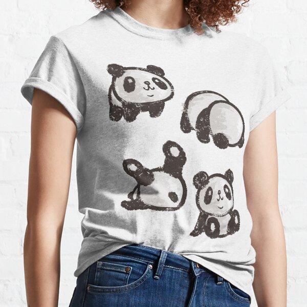 Panda roulant T-shirt classique