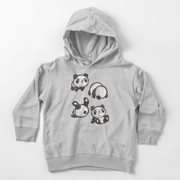 Rolling panda Toddler Pullover Hoodie