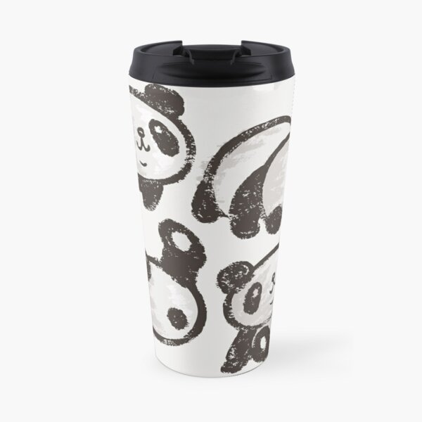 Rolling panda Travel Mug