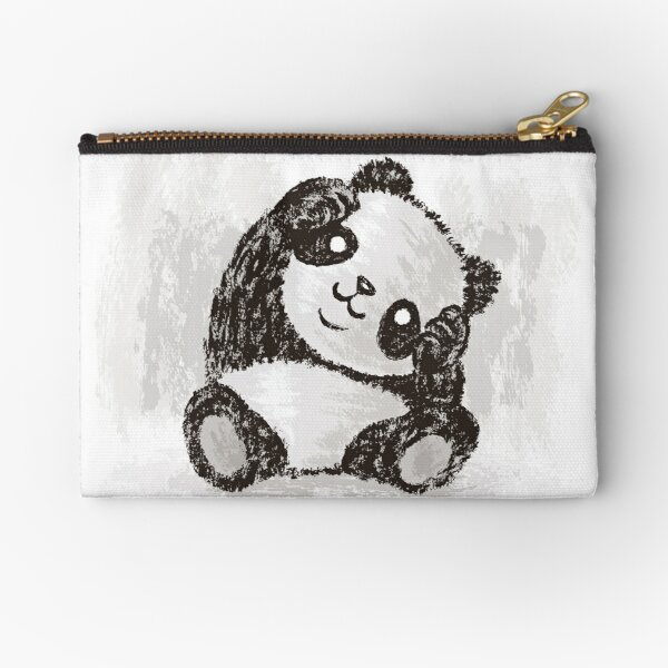 Cute Panda Zipper Pouch
