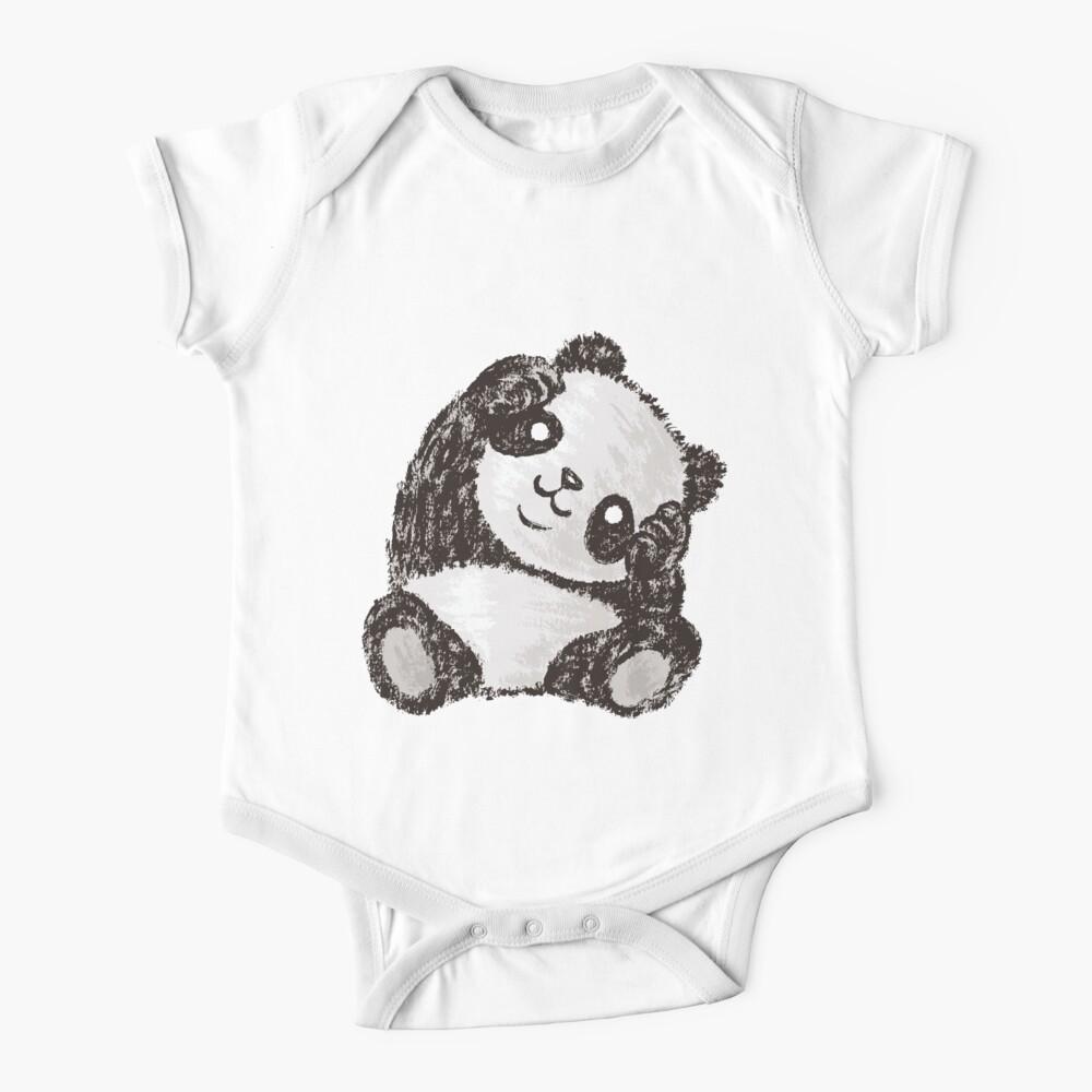 Cute Panda Baby One-Piece
