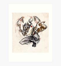 Rioichi Cooper Art Print