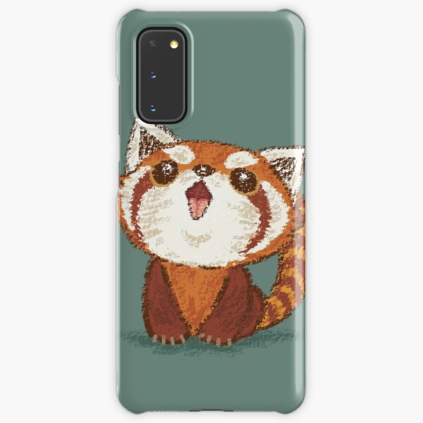 Red panda happy Samsung Galaxy Snap Case