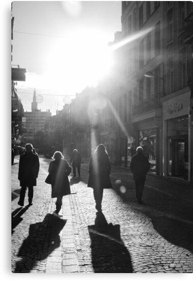 Under the winter' sun by Nayko