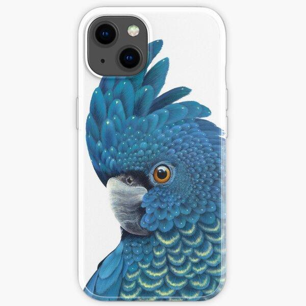 Cockatoo - Calyptorhynchus Banksii iPhone Soft Case