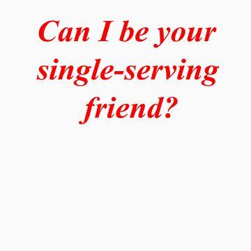 Single-Serving Friend by Deno666