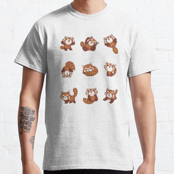 Many Red pandas Classic T-Shirt