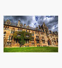 Christ Church College - Oxford, England Photographic Print