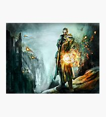 Warrior of the day Photographic Print