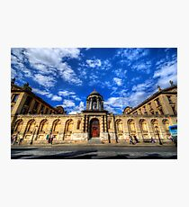 Queens College - Oxford, England Photographic Print