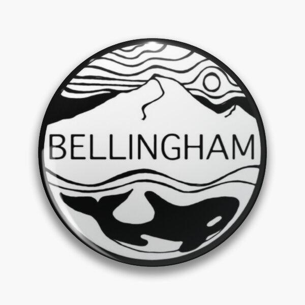 Button ~ Bellingham Orca Pin