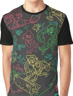 Squid Wars Graphic T-Shirt