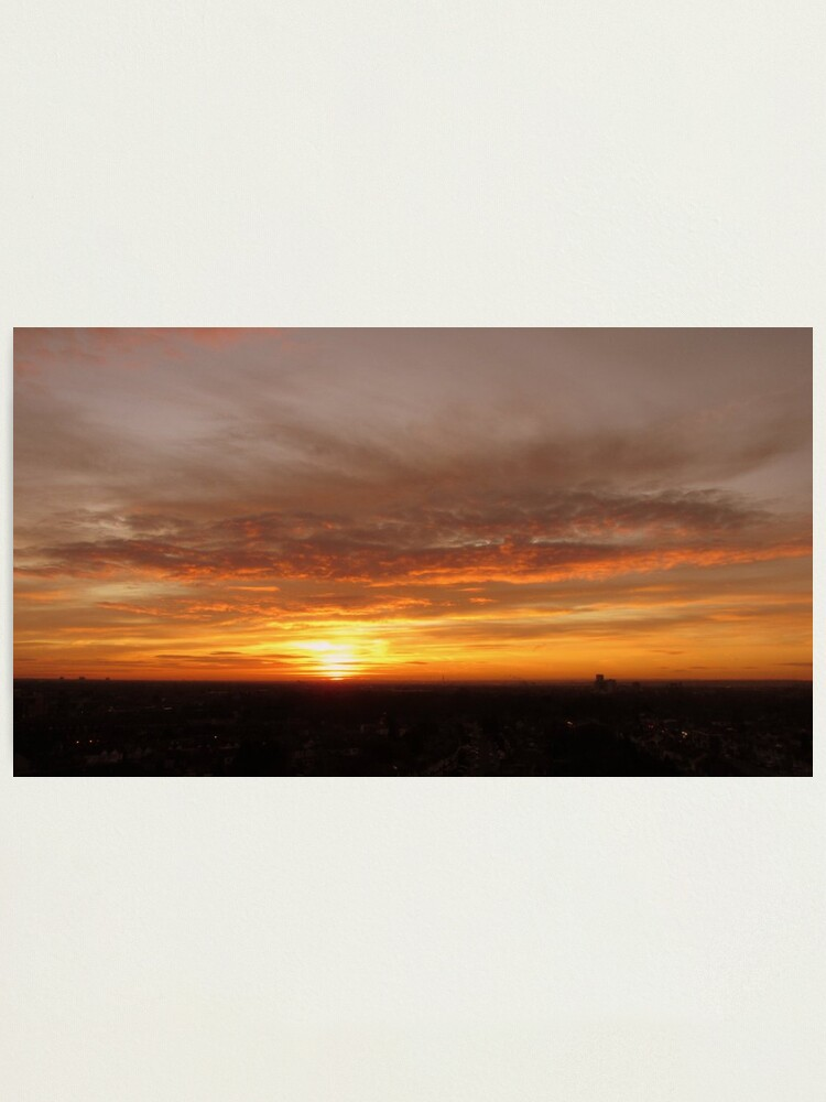 Alternate view of Morning Sunrise Photographic Print