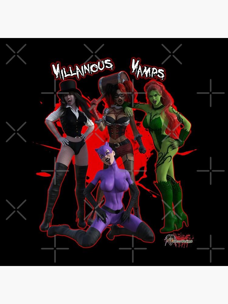 Villainous Vamps: The Sirens  by EnforcerDesigns