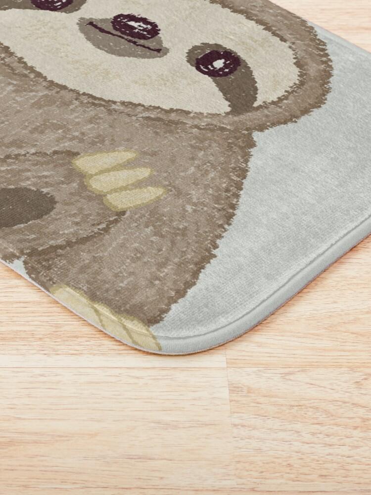 Alternate view of Sloth Bath Mat