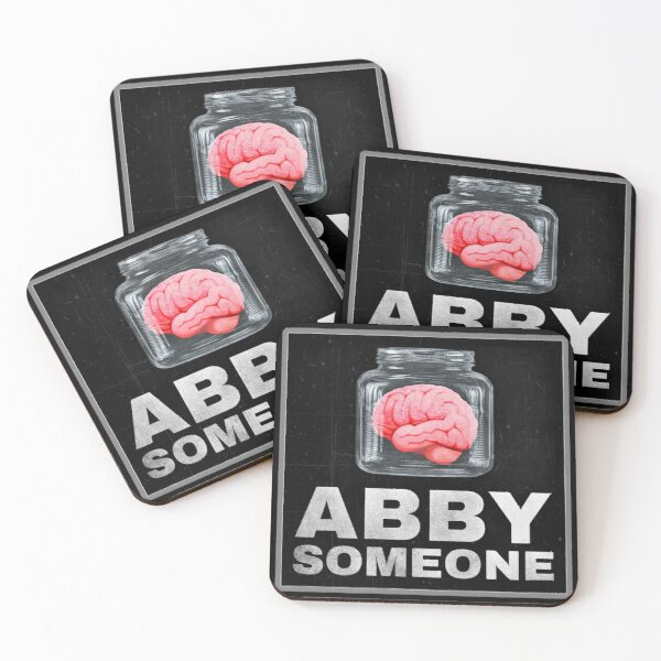 Brain of Abby Someone from Young Frankenstein Coasters (Set of 4)