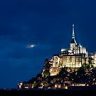 Le Mont Saint Michel by Maxim Mayorov