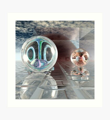 Spherology Art Print