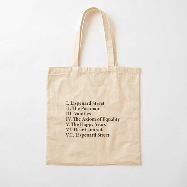 a little life hanya yanagihara Cotton Tote Bag