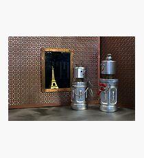 Robots in Paris Photographic Print