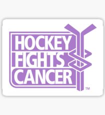 NHL Hockey Fights Cancer Sticker