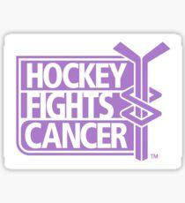 NHL-Hockey kämpft Krebs Sticker