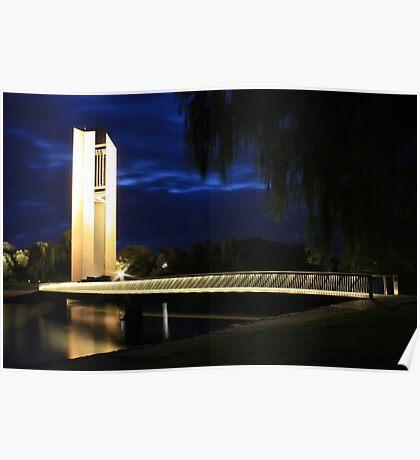 National Carillon, Australia Poster