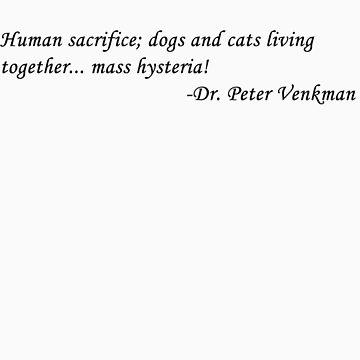 Peter Venkman by Matthewlraup