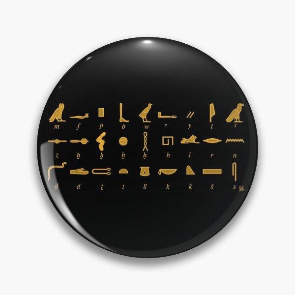 Hieroglyphs Table Pin