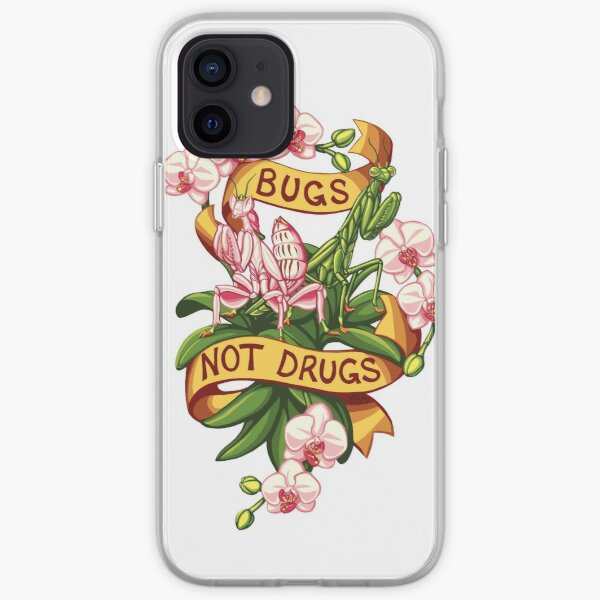 Bugs Not Drugs - Mantis Style iPhone Soft Case