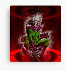 Prof. Mad Brainer Solo Canvas Print