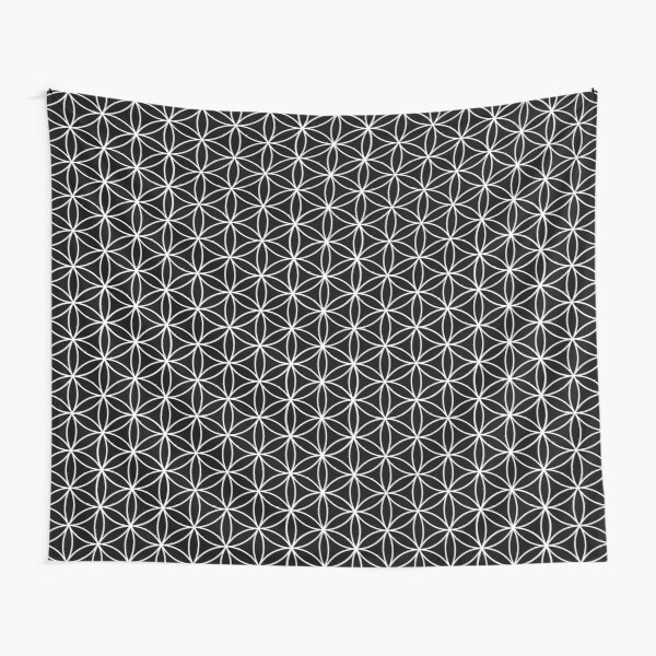 Flower of Life Pattern Tapestry