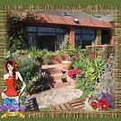 Our garden in Clovelly by NadineMay