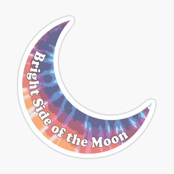 Christian French - Bright Side of the Moon Sticker
