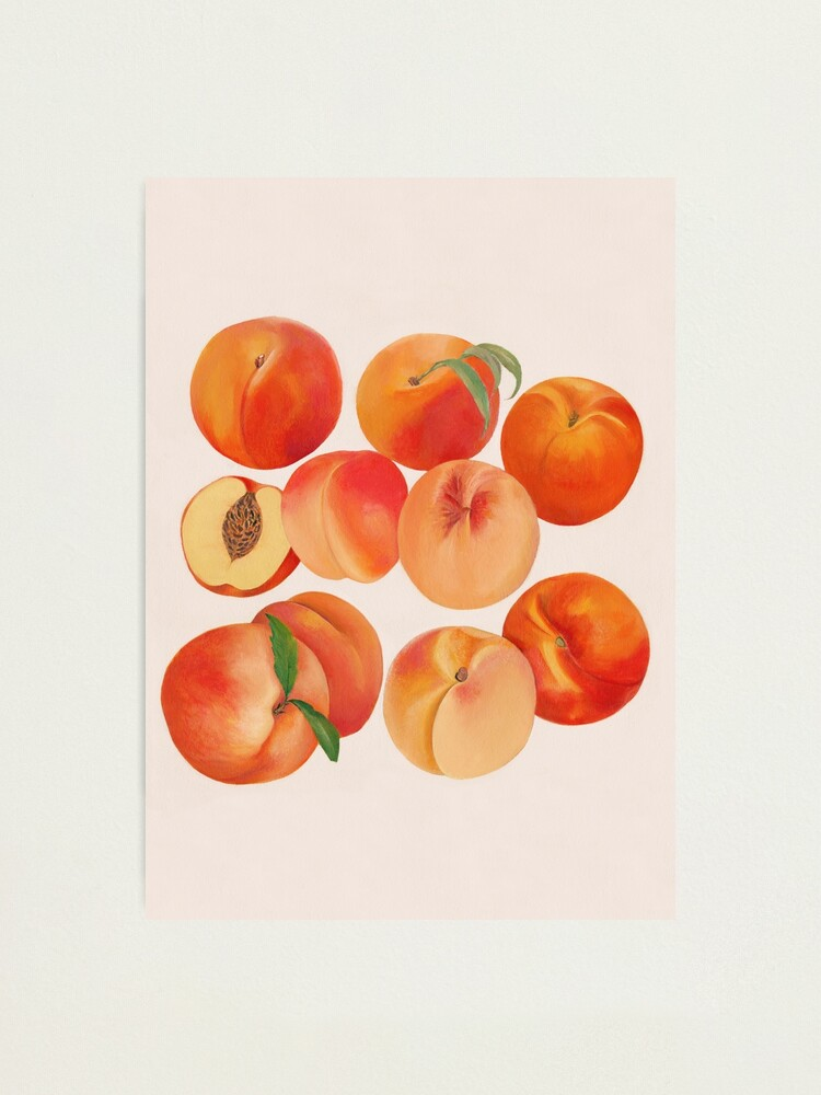 Alternate view of Peaches, Nectarines, Tropical Fruit Photographic Print